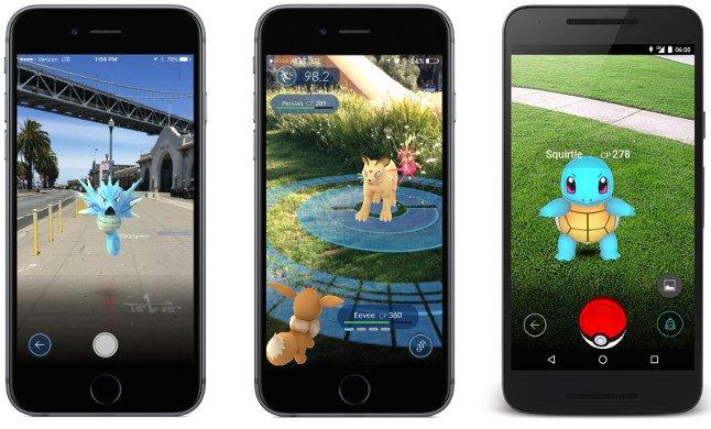 Pokémon Go controllo apk