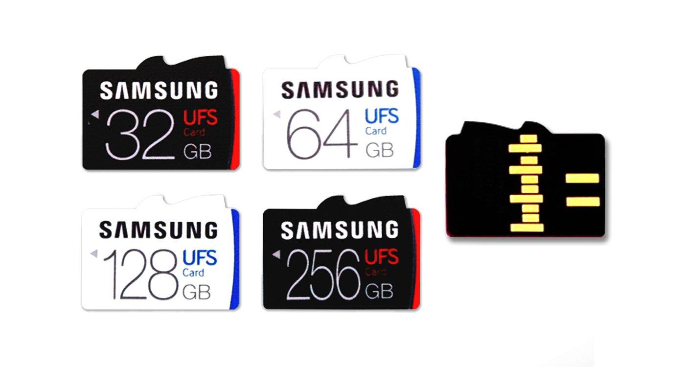 Samsung presenta le prime memory card UFS