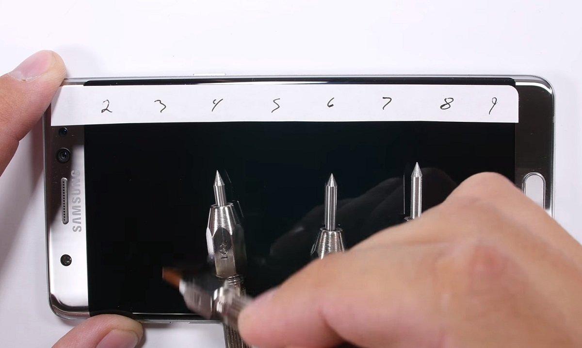 Corning risponde in merito allo stress test del Samsung Galaxy Note 7