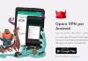 Opera, VPN, Android, iOS