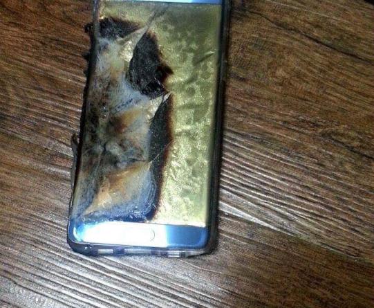 Samsung Galaxy Note 7 prende fuoco ed esplode! Ecco il video…