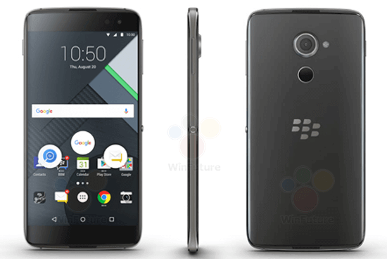 BlackBerry DTEK60, il nuovo top gamma dell'azienda