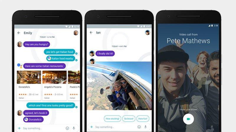 Google Allo chat artificiale vs WhatsApp