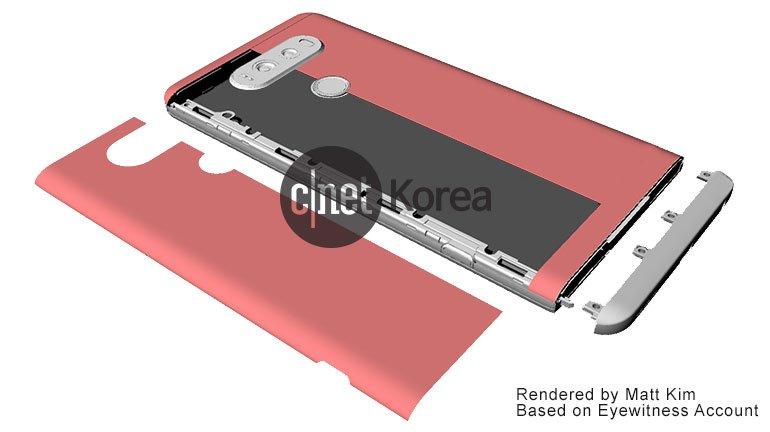 Home Mobile L'LG V20 avrà una batteria da 4000mAh e una fotoc