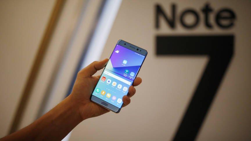Samsung Galaxy Note 7, stop alla produzione