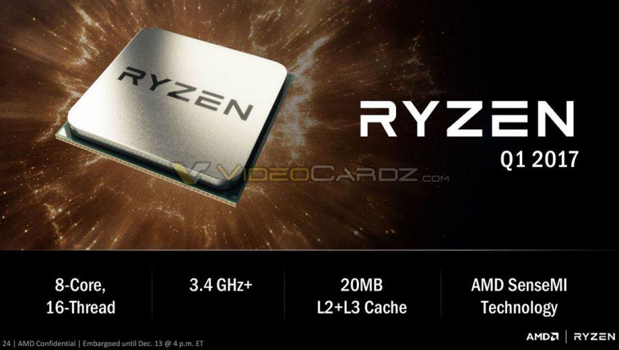 AMD RYZEN - Le nuove CPU Enthusiast AMD Zen