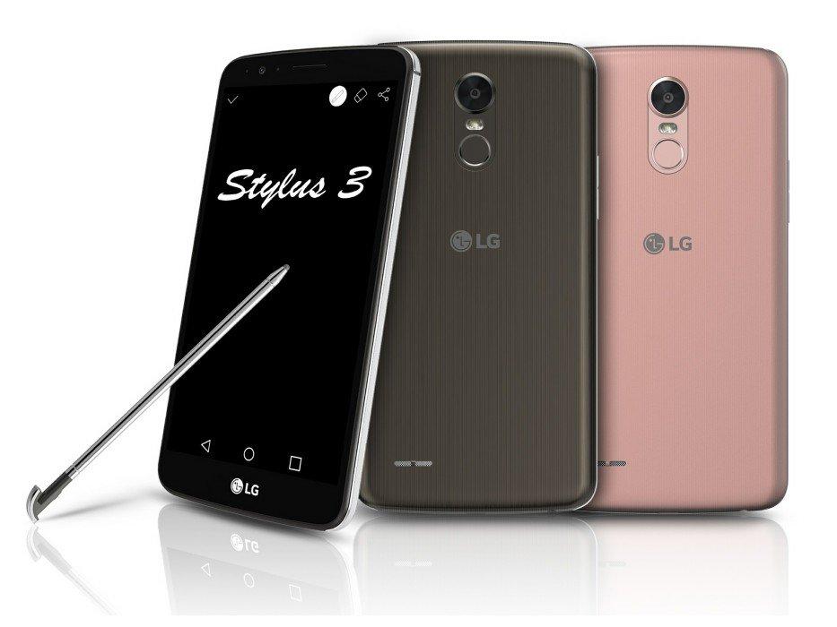 LG annuncia l'LG Stylo 3 e quattro nuovi smartphone della serie K