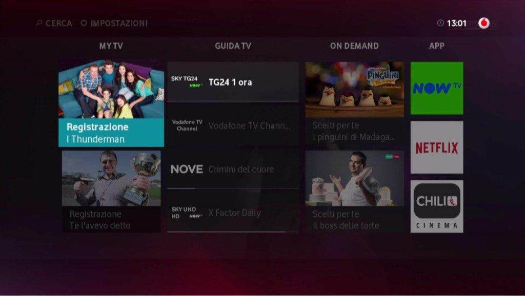 Arriva Vodafone TV, novità e prezzi
