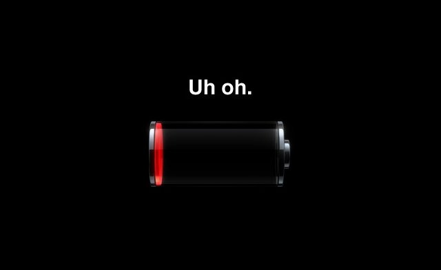 apple iphone bug batteria