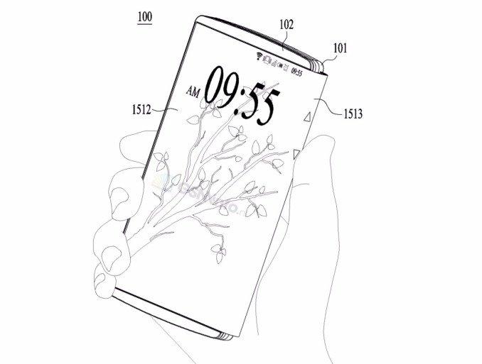LG brevetta il primo ibrido smartphone-tablet con display pieghevole