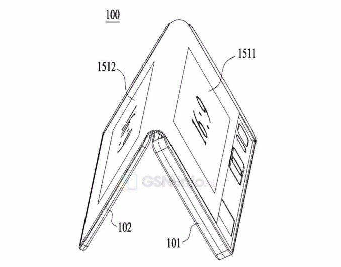 Anche LG ha brevettato uno smartphone/tablet pieghevole