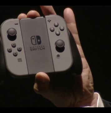 Nintendo Switch ufficiale