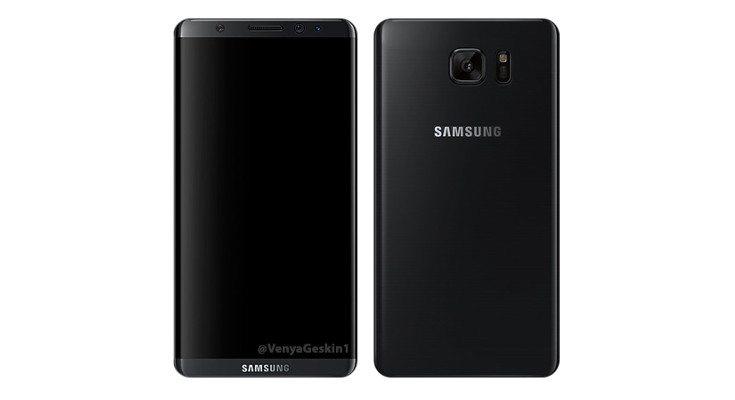 samsung galaxy s8 foto render