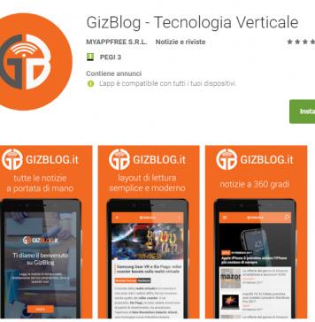 GizBlog App Google Play Store