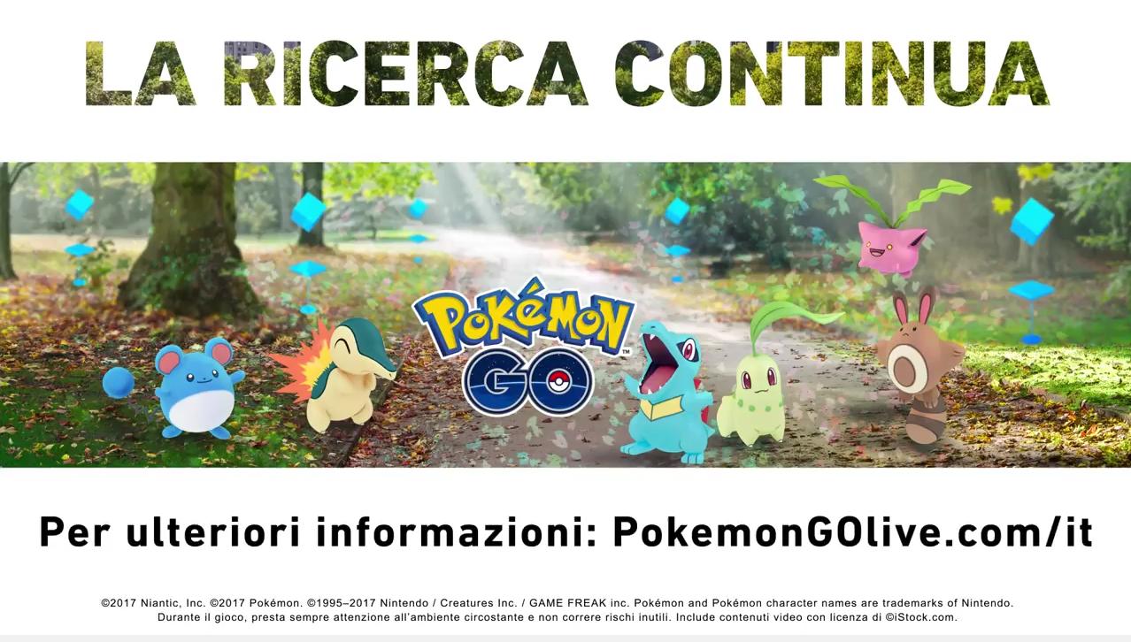 Pokémon GO: ufficiali 80 nuovi Pokémon della seconda generazione!