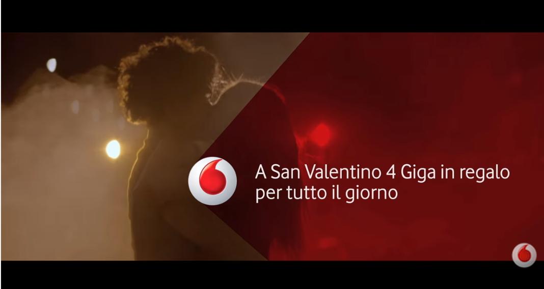 San Valentino Vodafone: 4GB di Internet Gratis